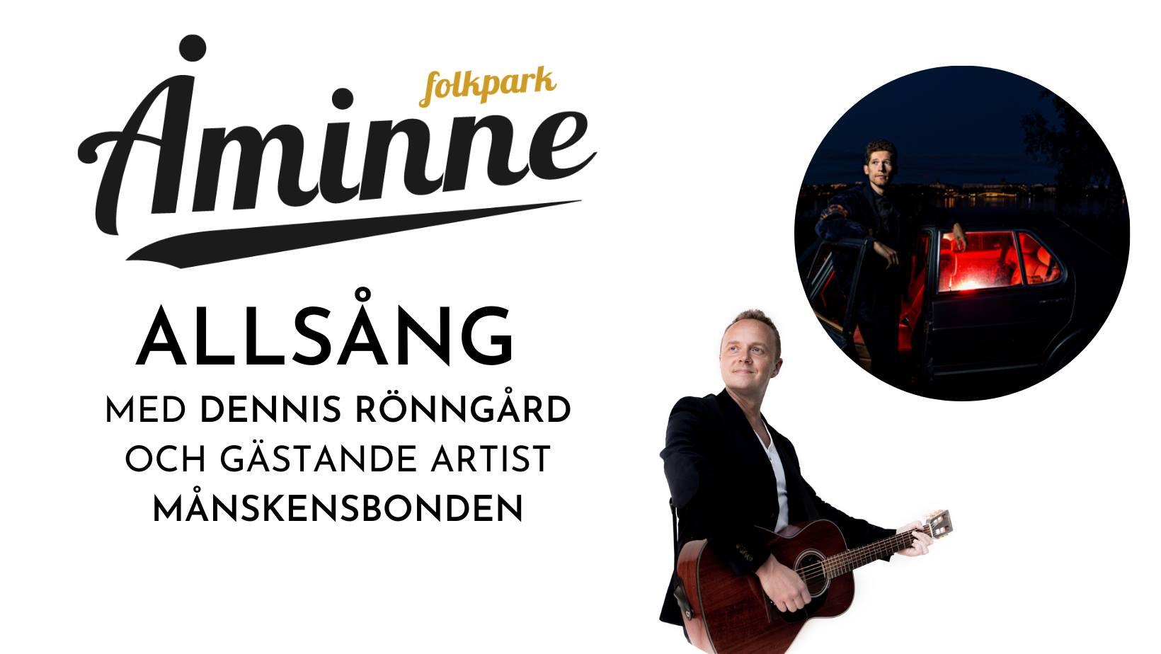 Allsång med Dennis Rönngård